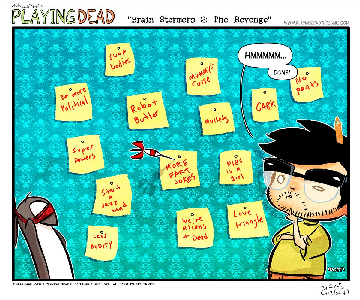 Brain Stormers 2: The Revenge