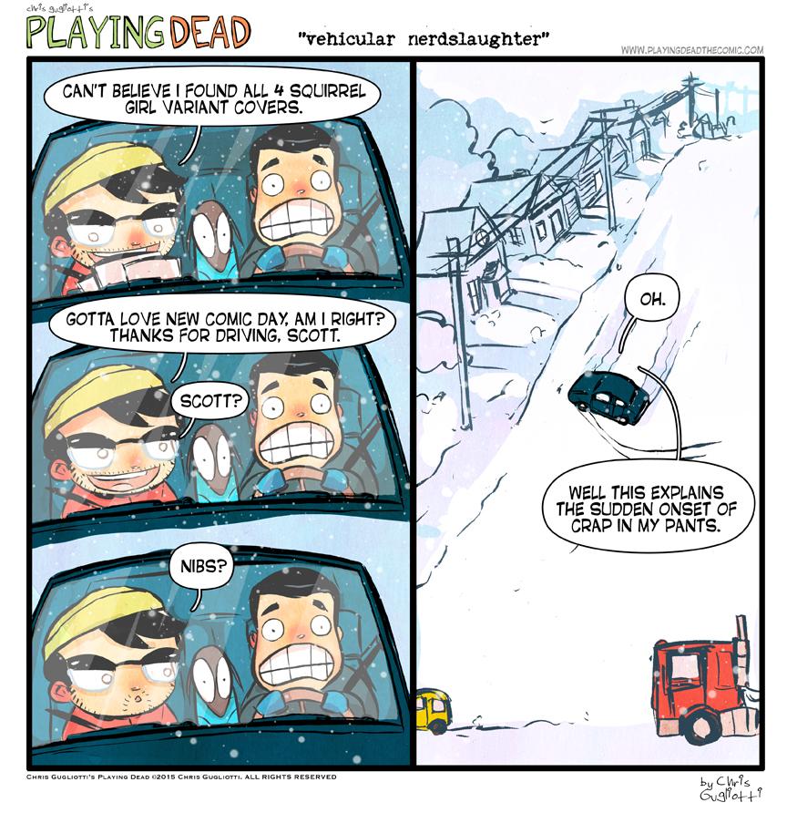 Vehicular Nerdslaughter